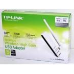 150Mbps High Gain Wireless USB Adapter TL-WN722N
